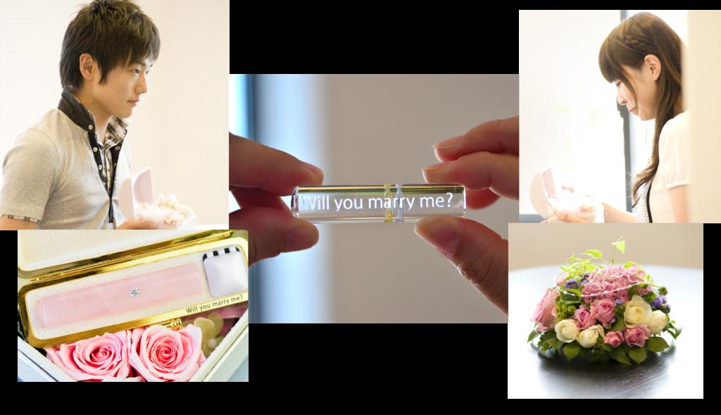 プロポーズ サプライズプロポーズ 結婚しよう 結婚準備 新しい苗字 新姓 プレ花嫁 誕生石 お守り 印鑑 認印